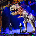 Life size animatronic T-Rex for hire