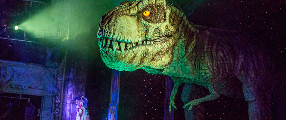 Animatronic T-Rex dinosaur for hire